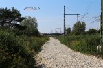 Baiersdorf 23.08.15: Neue Fahrleitungsmasten