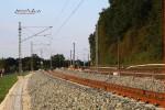 Bubenreuth 22.08.15: Blick aus der Kurve in Richtung Norden