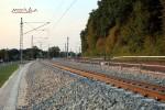 Bubenreuth 07.08.15: Blick aus der Kurve bei km 26,0 in Richtung Norden