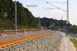 Bubenreuth 22.08.15: Blick aus der Kurve in Richtung Süden