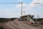 Eltersdorf 22.08.15: Überwerfungsbauwerk für das Ferngleis Nürnberg  Bamberg
