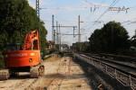 Erlangen 22.08.15: EisenErlangen 22.08.15: Unterbau nahe Kaufland