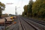 Baiersdorf 24.10.15: Blick von km 30,2 in Richtung Süden (Bestandstrasse)