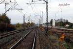 Baiersdorf 24.10.15: Blick von km 30,2 in Richtung Norden (Bestandstrasse)