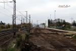 Baiersdorf 24.10.15: Blick von km 30,2 in Richtung Norden (neue Trasse)