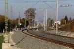 Bubenreuth 31.10.15: Blick aus dem Kurve bei km 26,2, (Richtung Norden)