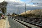 Bubenreuth 23.10.15: Blick von km 26,4 in Richtung Norden