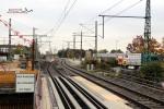 Bubenreuth 24.10.15: Blick vom östlichen Bahnsteig in Richtung Süden