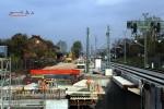 Eltersdorf 22.10.15: Blick vom Bahnsteig in Richtung Norden