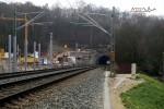 Burgbergtunnel 05.12.15: Nordportal