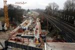 Erlangen 05.12.15: Eisenbahnbrücke über die Schwabch