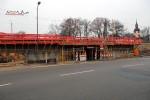 Erlangen 05.12.15: Eisenbahnbrücke Münchener Straße