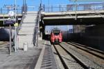 """Paul-Gossen-Straße 06.12.15: Der erste Zug war 442 226, der sogleich auf den Namen """"Erlangen"""" getauft wurde"""
