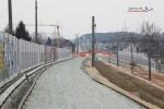 Eltersdorf 28.02.16: Blick vom Überwerfungsbauwerk in Richtung Norden