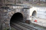 Burgbergtunnel 15.02.16: Das Südportal