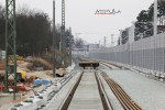 Bruck 28.02.16: Blick von der A3-Brücke in Richtung Norden