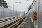 Bruck 28.02.16: Blick von der Brücke Tennenloher Straße in Richtung Süden