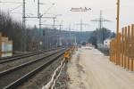 ÜSt. Unterfarrnbach 28.02.16: Blick von der Brücke Vacher Straße in Richtung Regnitzbrücke