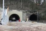 Burgbergtunnel 13.3.16: Nordportal