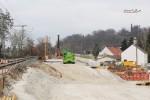 Erlangen 13.3.16: Der östliche Teil der EÜ Martinsbühler Straße ist fertig
