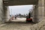 Erlangen 13.3.16: Blick vom Tunnel auf die Schwabachbrücke
