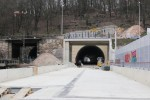 Burgbergtunnel 13.3.16: Südportal