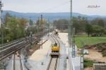 Baiersdorf 25.04.16: Blick von der Brücke Jahnstraße in Richung Norden