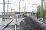 Baiersdorf 29.04.16: Alte und neue Trasse des Süd-Nord-Streckengleises
