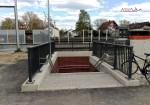 Bruck 29.04.16: Westlicher Treppenaufgang, oberer Zugang