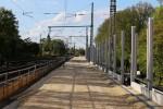 Erlangen 04.05.16: Blick vom Standort des ehemaligen Stellwerk 4 in Richtung Norden