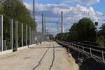 Erlangen 04.05.16: Blick von der Münchener Straße in Richtung Süden