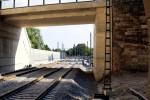 Erlangen 07.06.16: Blick aus dem Tunnel in Richtung Süden
