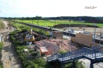 Kersbach 21.06.2016: Das Bahnwärterhäuschen ist Geschichte