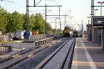 Baiersdorf 05.07.16: Behelfsbahnsteig am künftigen Süd-Nord-Ferngleis