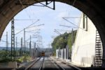 Bubenreuth 05.07.16: Blick aus dem Burgbergtunnel in Richtung Norden