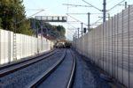 Bubenreuth 05.07.16: Blick von Strecken km 27,0 in Richtung Süden; Signalbrücke für SBK 2755