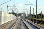 Bubenreuth 05.07.16: Blick von Norden auf Hilfsbrücke und Behelfsbahnsteige