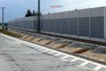 Eltersdorf 26.07.16: Die Fundamentgruben für den Behelfsbahnsteig für die S-Bahnen in Richtung Süden sind bereits zu erkennen