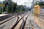Erlangen 05.07.16: Blick vom Bahnsteigende nach Norden