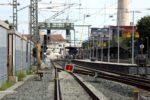 Erlangen 05.07.16: Blick zurück in den Bahnhof
