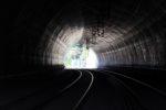 Burgbergtunnel 05.07.16: Blick vom Südportal durch den Tunnel in Richtung Bubenreuth