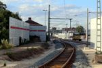 Bruck 30.07.16: Blick vom Herzogenauracher Gleis in Richtung Norden