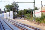 Bruck 07.07.16: Blick von neuen Mittelbahnsteig in Richtung Frauenaurach
