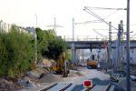 Bruck 07.07.16: Neuaufbau Unterbau für das künftige Nord-Süd-Streckengleis