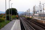 Bubenreuth 19.08.16: Blick vom ehemaligen Wartehäuschen in Richtung Norden