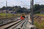 Eltersdorf 07.08.16: Lückenschluss südlich des Überwerfungsbauwerkes