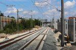 Bruck 07.08.16: Die beiden Nord-Süd-Gleise, rechts das S-Bahn-Gleis