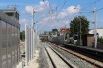 Bruck 07.08.16: Die beiden Süd-Nord-Gleise, links das S-Bahn-Gleis