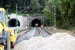 Bubenreuth 22.09.16: Burgbergtunnel, Nordportal