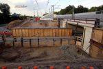 Bubenreuth 22.09.16: Baufeld für neue Brücke Bubenreuther Weg